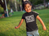 Spread Respect - Short Sleeve Youth T-shirt - R.O.S.E. clothing
