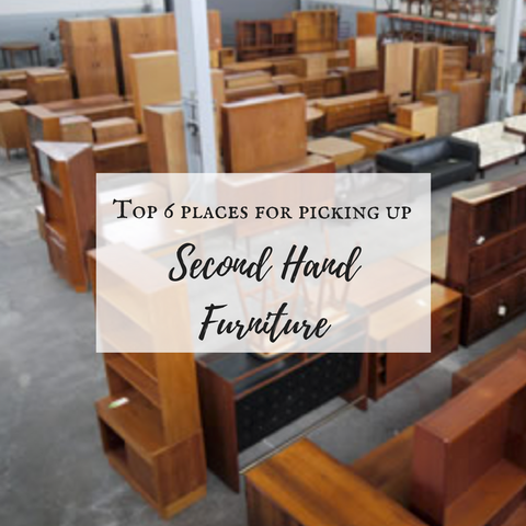 Top 6 places for picking up good quality, unique furniture!