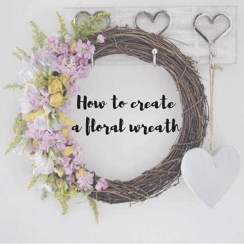 How to create a Fresh Floral Wreath