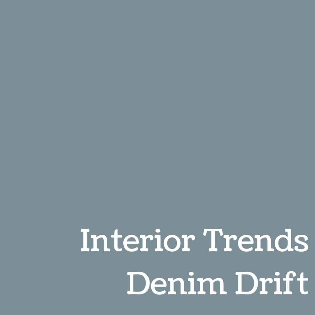 Denim Drift - Interior Trends for 2017