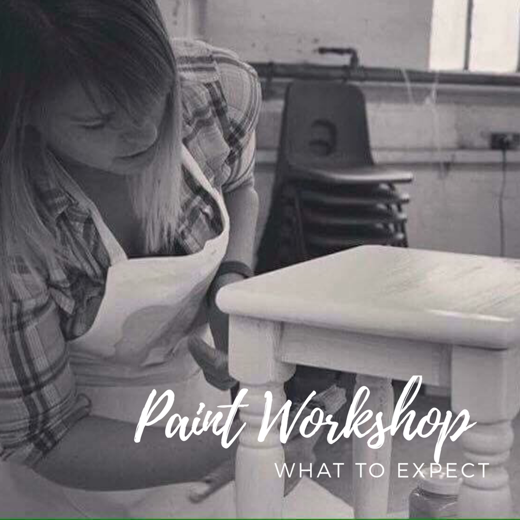Everlong Chalk Paint Workshops at Teacups and Tutus - What to Expect