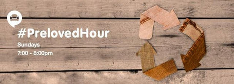 #PrelovedHour on Twitter for upcyclers to share ideas