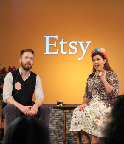 Kirstie talks to etsy