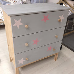 Furniture chalk painted at clients workshop