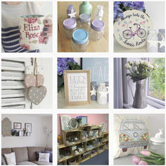Eliza-rose vintage and chalk paint shop on Instagam