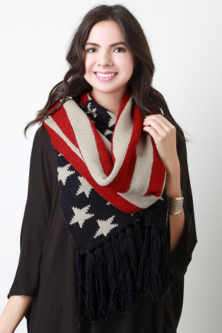 American Pride Knit Scarf