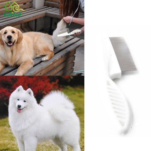 Pet Dog Cat Hair Shedding Grooming Trimmer