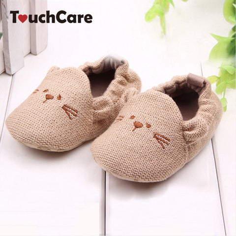 Lovely Baby Boy & Girl Knitted Crib Shoes