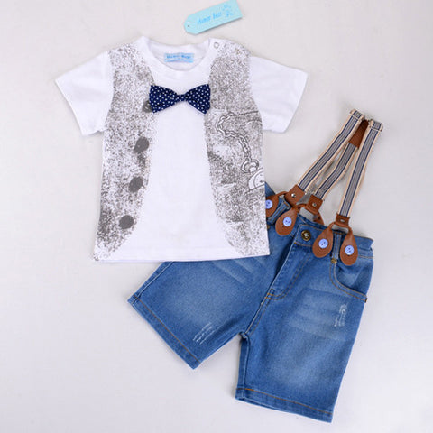 Humor Bear Children'S Clothing Set - zakastore
