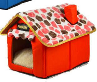 Pet bed tent house Kennels for small dog