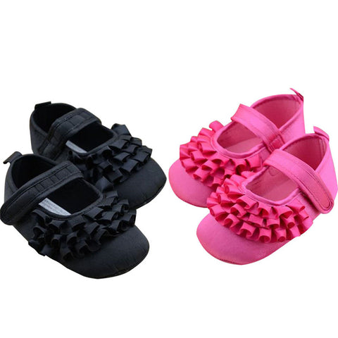 New Girl infant tiara baby shoe