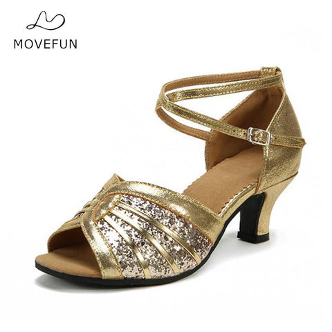 Move Fun Adults Latin Dance Shoes