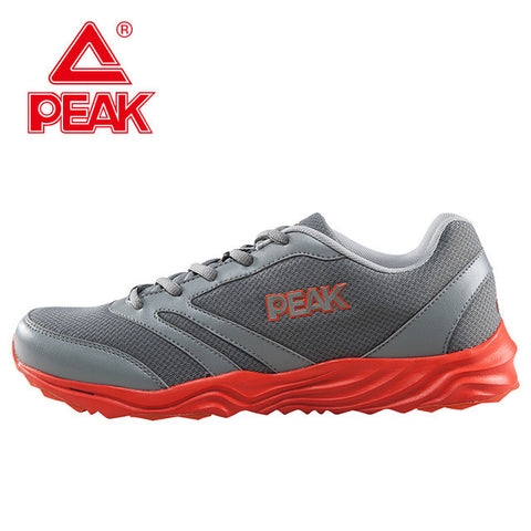 PEAK Men's Running Mesh Flat Shoes