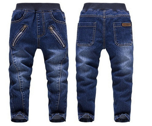 SKZ Spring Autumn Children Cotton Jeans - zakastore
