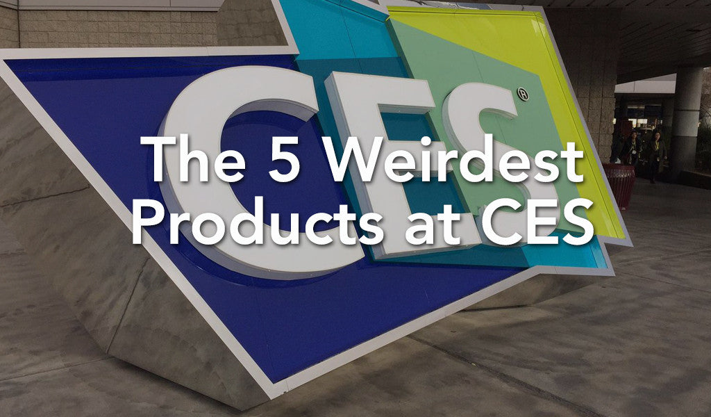 The 5 Weirdest Products at CES 2017