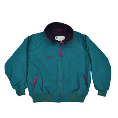 Women's Columbia Waterproof Jacket - Turquoise