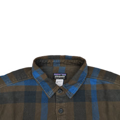 Patagonia Flannel Shirt - Blue and Brown