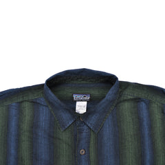 Patagonia Shirt - Navy and Green