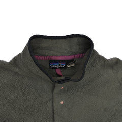Patagonia Synchilla Snap T Fleece - Olive Green