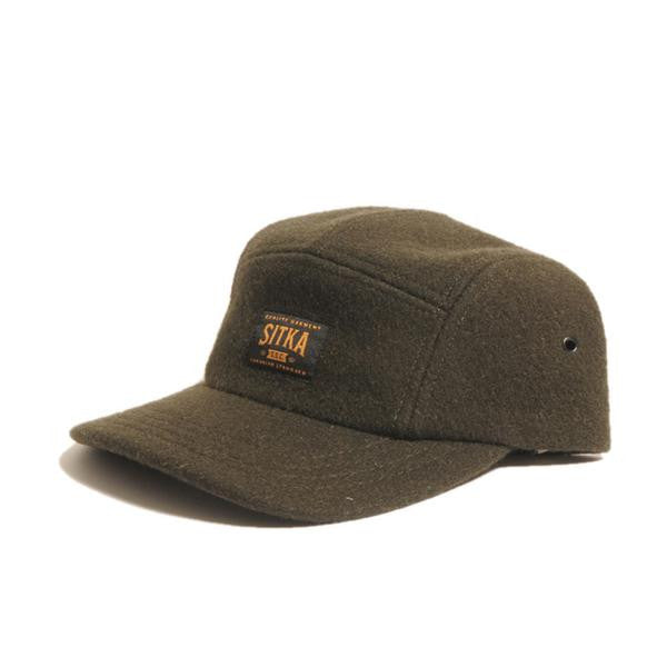 Sitka 5 panel Cap - Recycled Wool