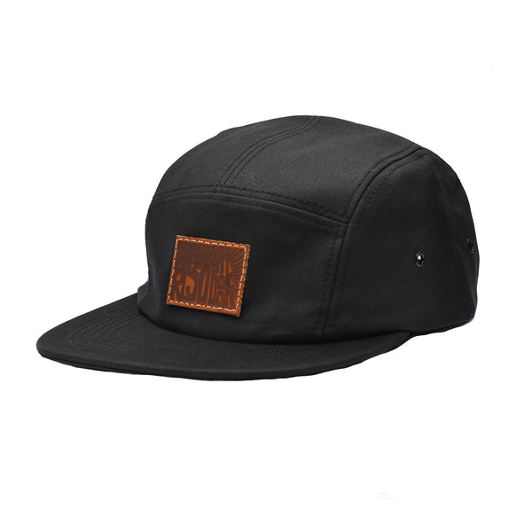 Rise Outdoors 5 Panel Cap - Waxed Canvas