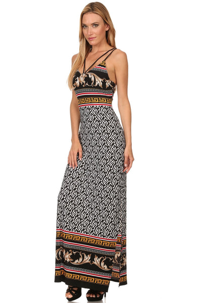 Glamour Strappy Maxi Dress