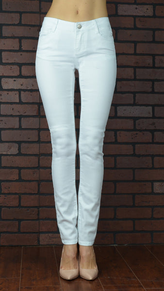 angel white skinny jeans