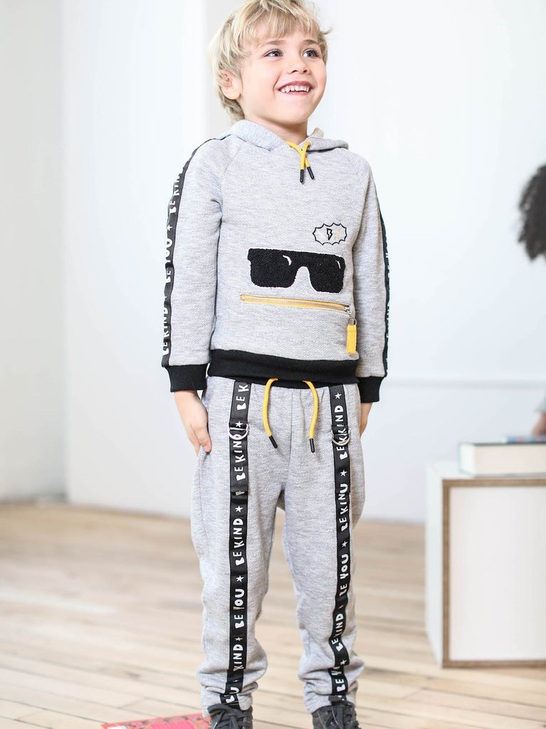 boys hoodie and jogger set