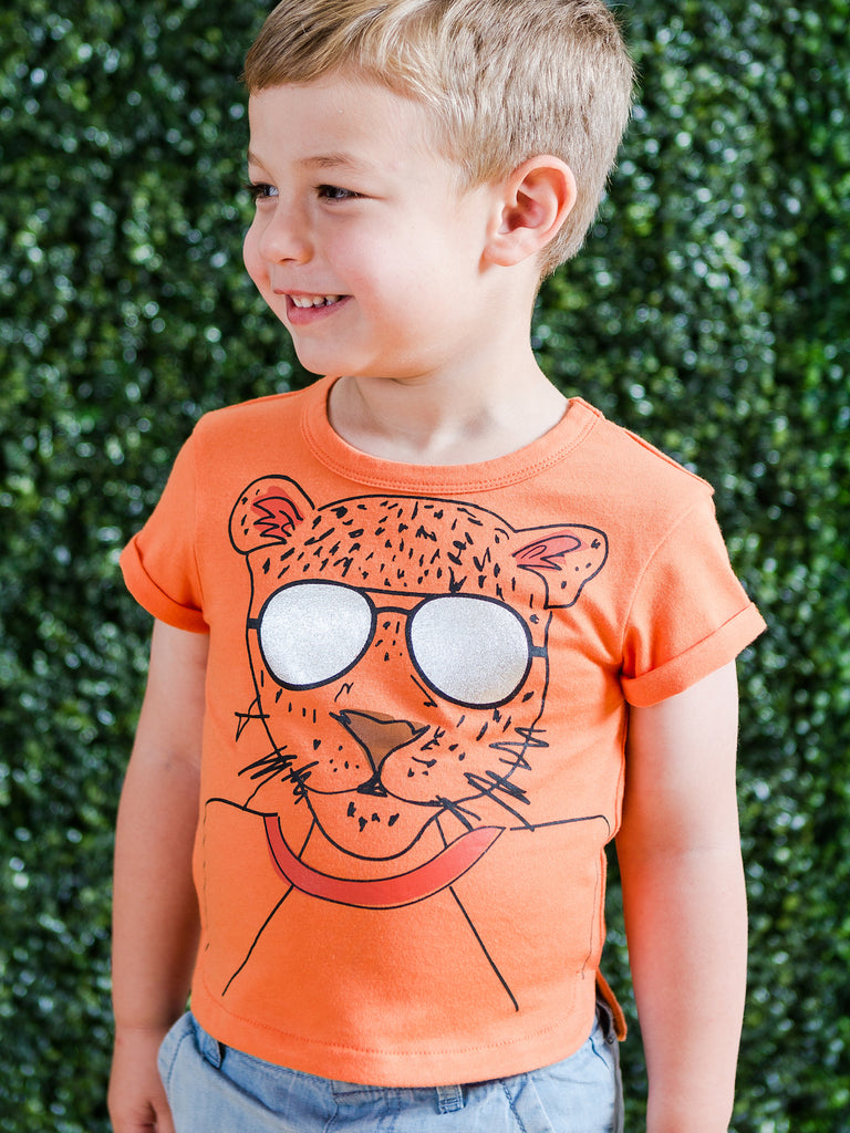 Boys Cool Tiger Tee