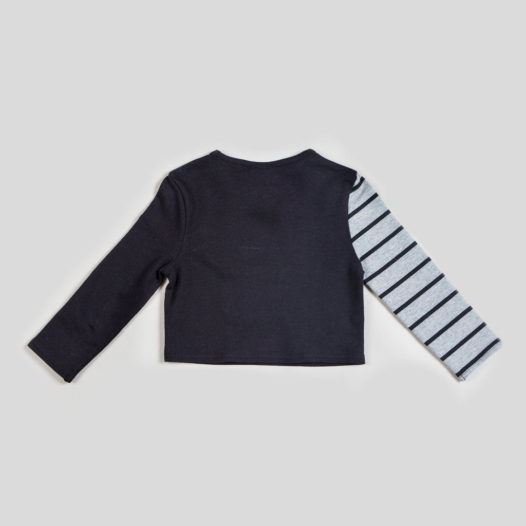 Boy's Striped Kinderkind Kool Long Sleeve Top