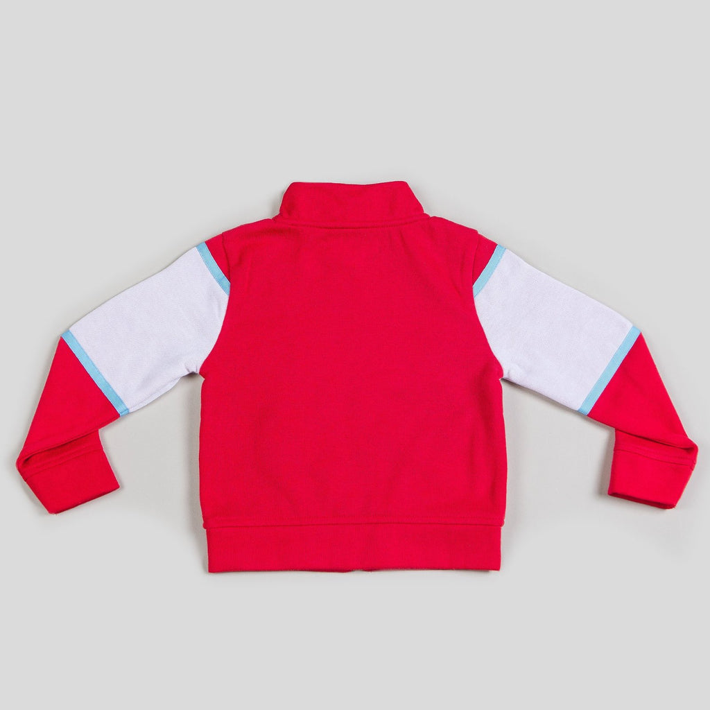 Boy's Tracksuit Jacket with Patchwork