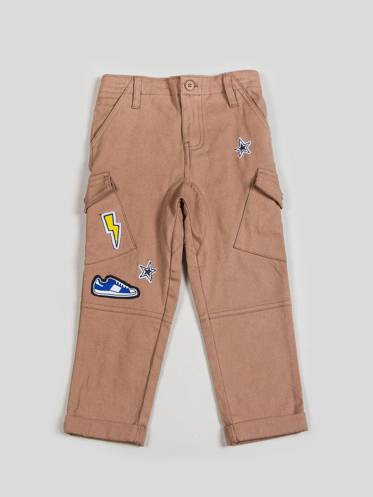 kids twill cargo pants