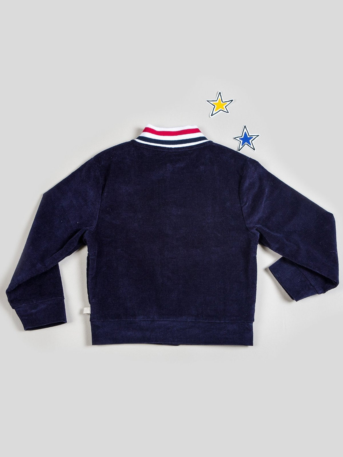 Boy's Corduroy Bomber with Ribbed Knit Waistband