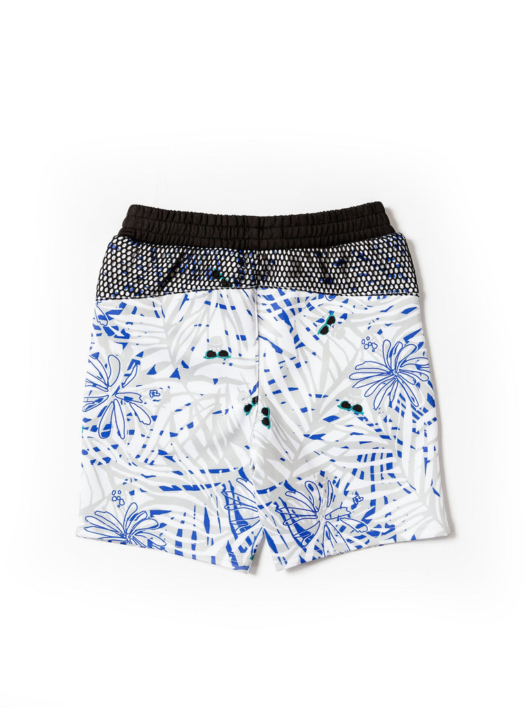 Boys Fern Print Scuba Shorts