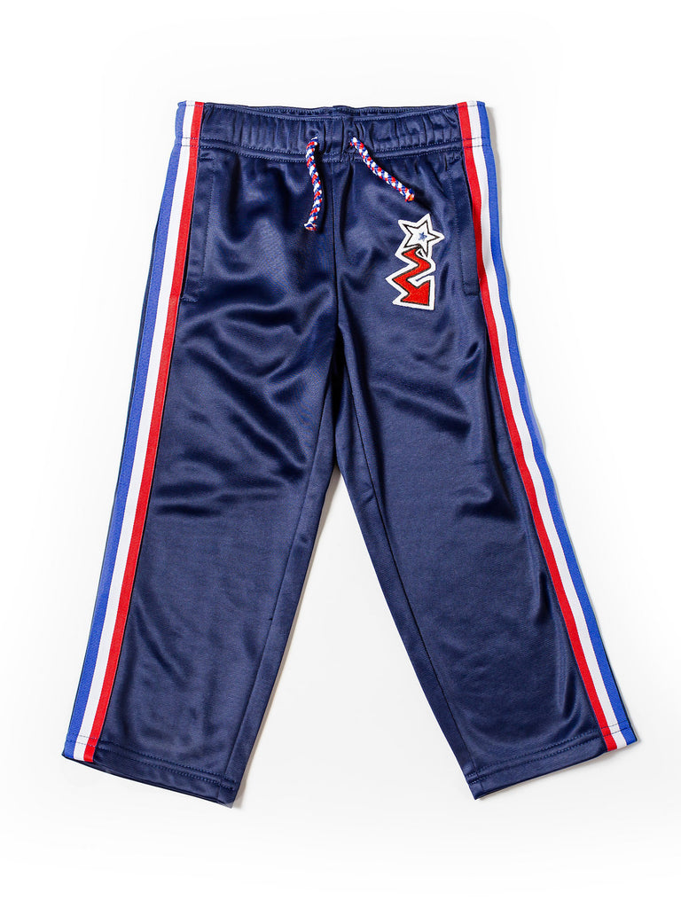 Boy's Tricot Track Pant with Side Stripe