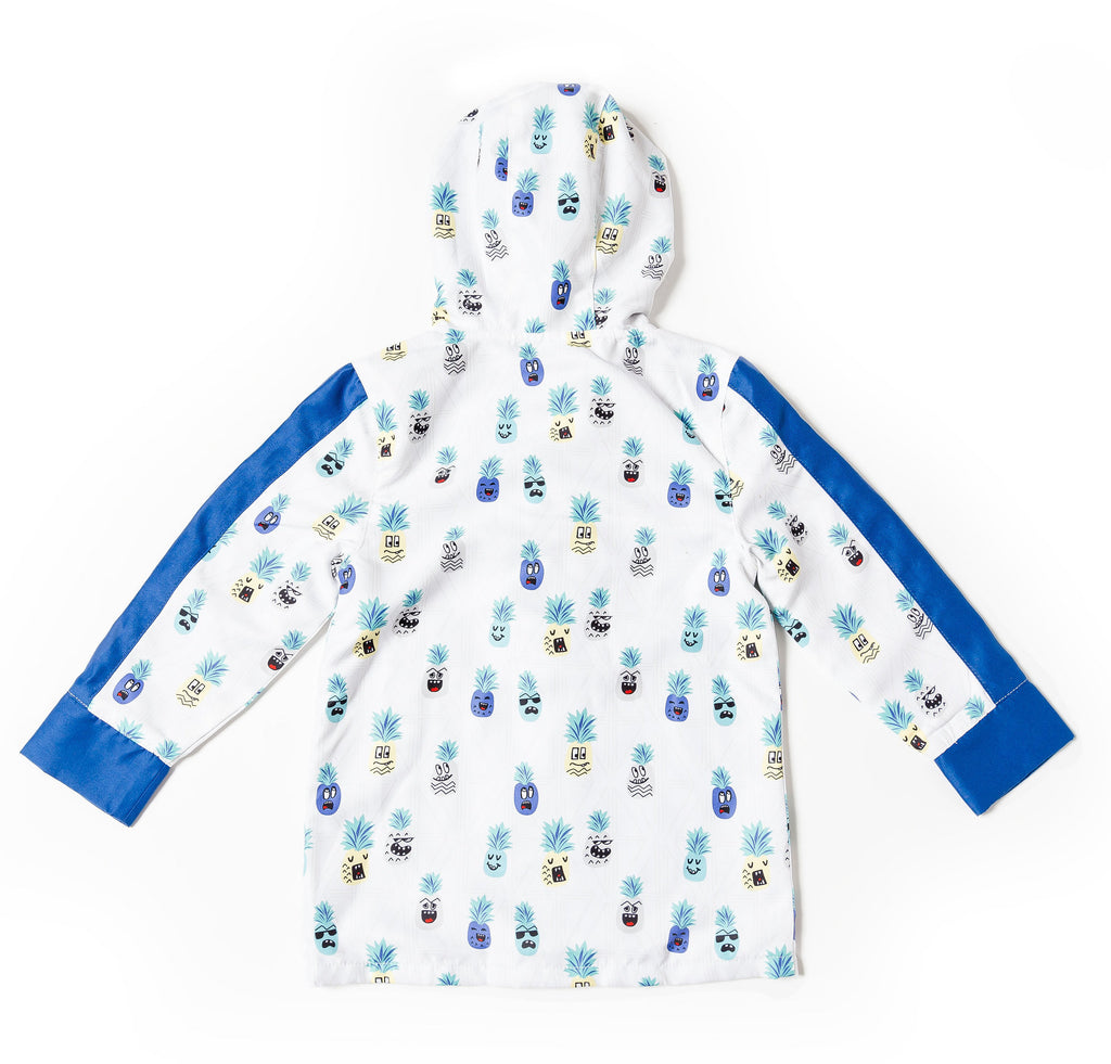 boys printed parka