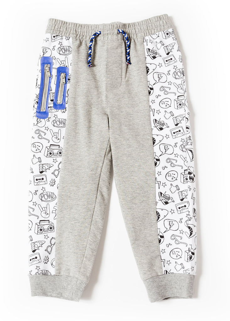 printed joggers for boys