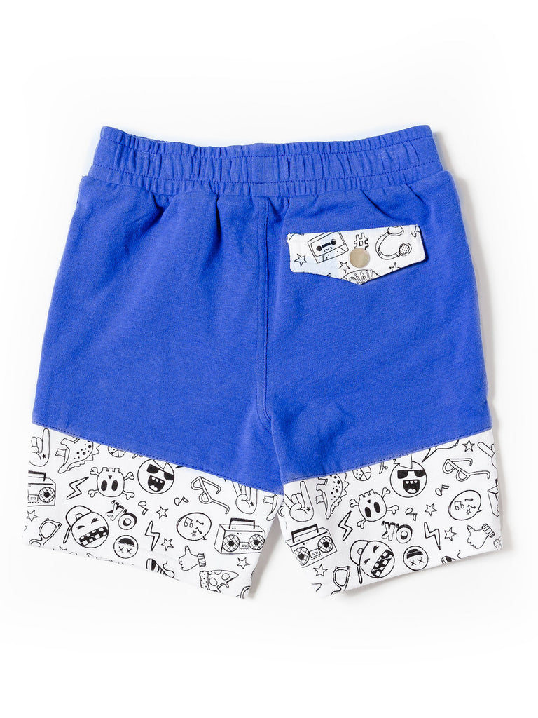 Boys Color Blocked Short