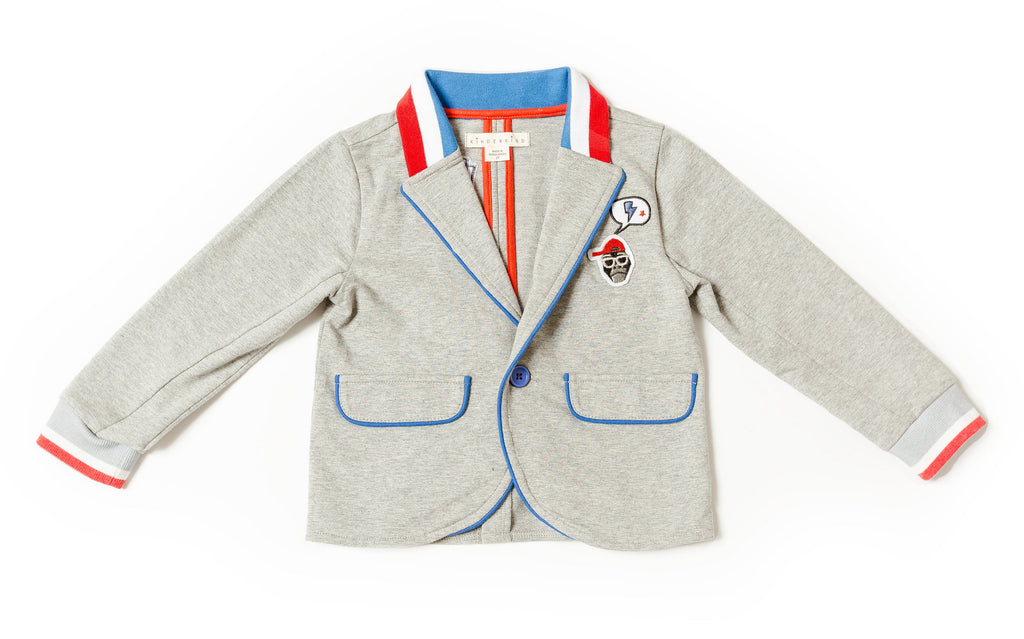 Boy's Knit Blazer