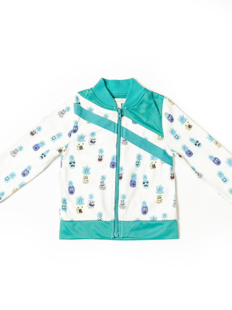 Boy's Pineapple Track Jacket