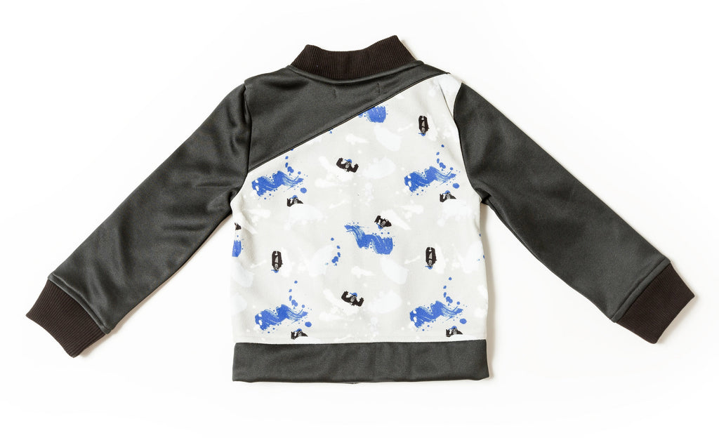 Boy's Gorilla Graffiti Track Jacket