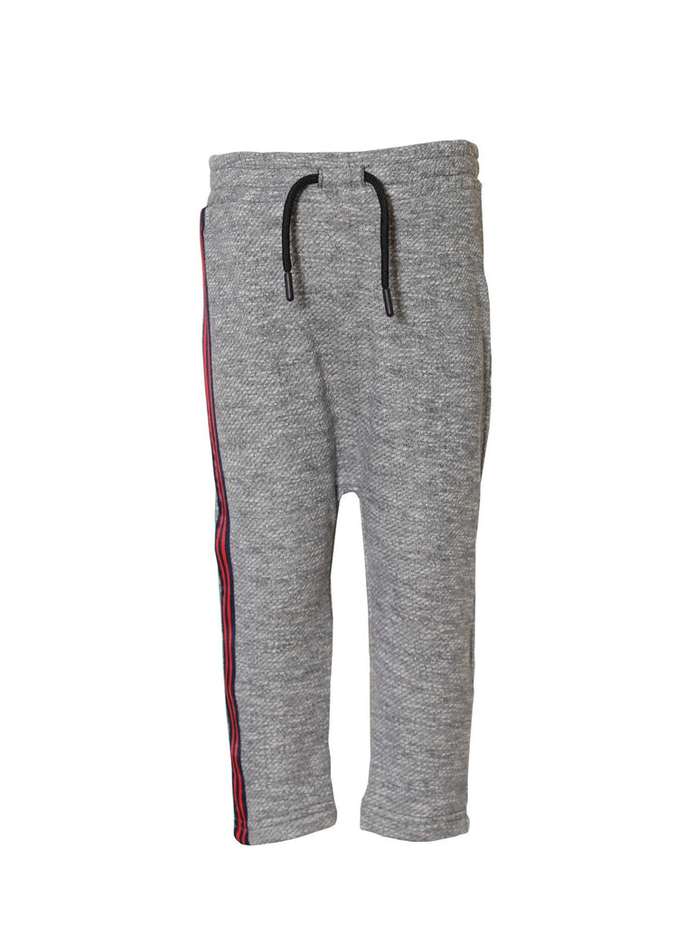 Boys Pull On Jogger with Twill Trim