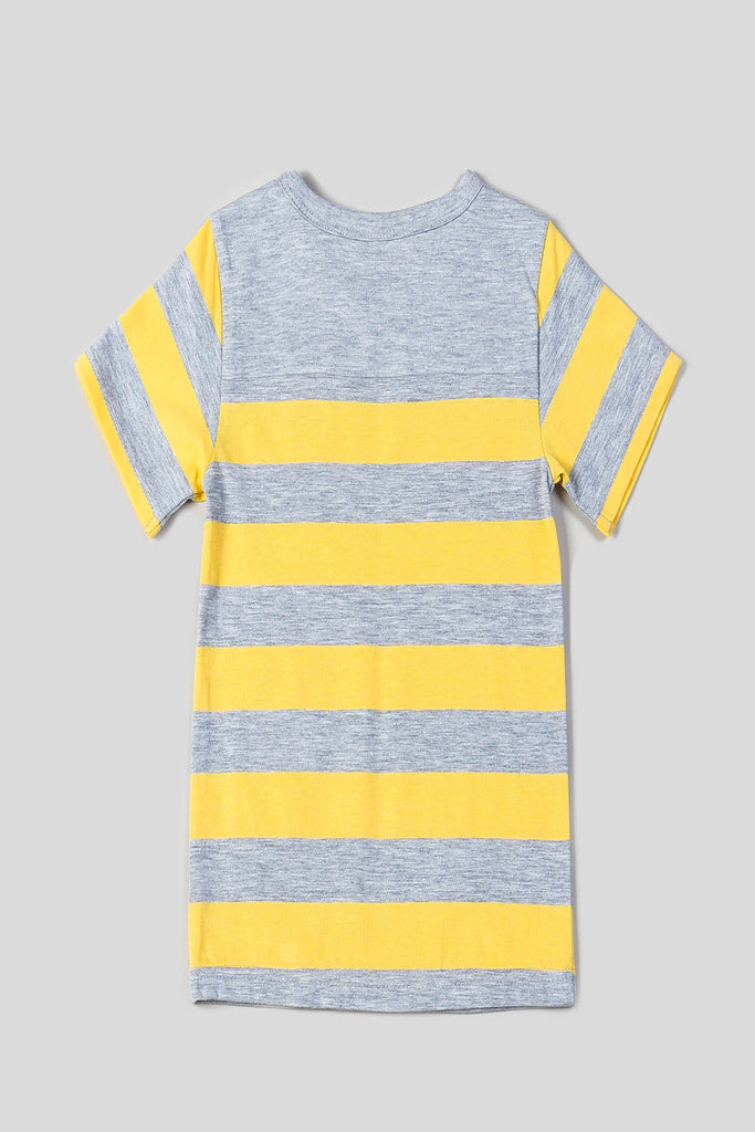 Boys Crew Neck Stripe Tee