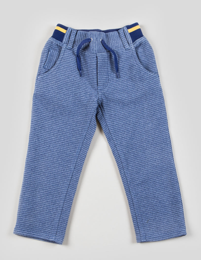Boys Pull-on Rib Tapered Leg Pant