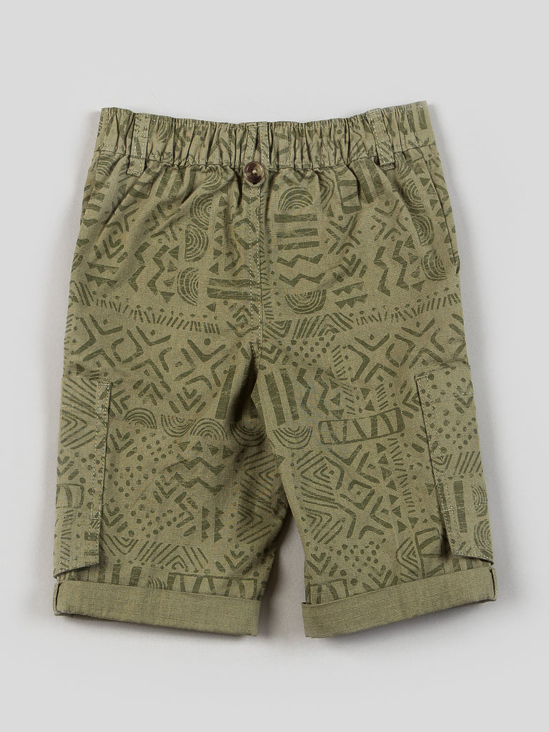 Boys Rhino Tank and Pull-on Canvas Shorts