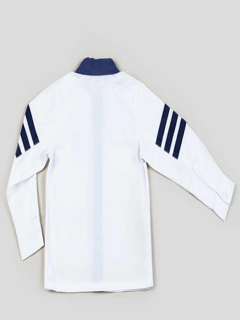 Boys Collared Long Sleeve Poplin Shirt
