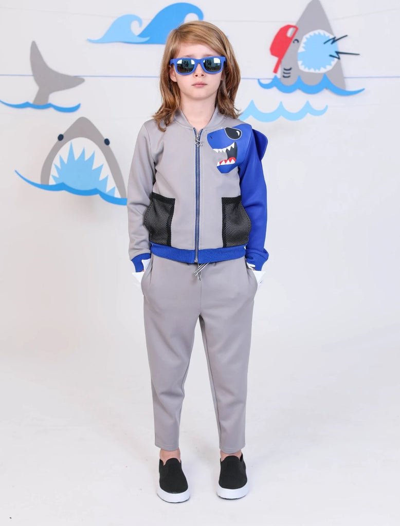 Boys Shark Monster Scuba Pant