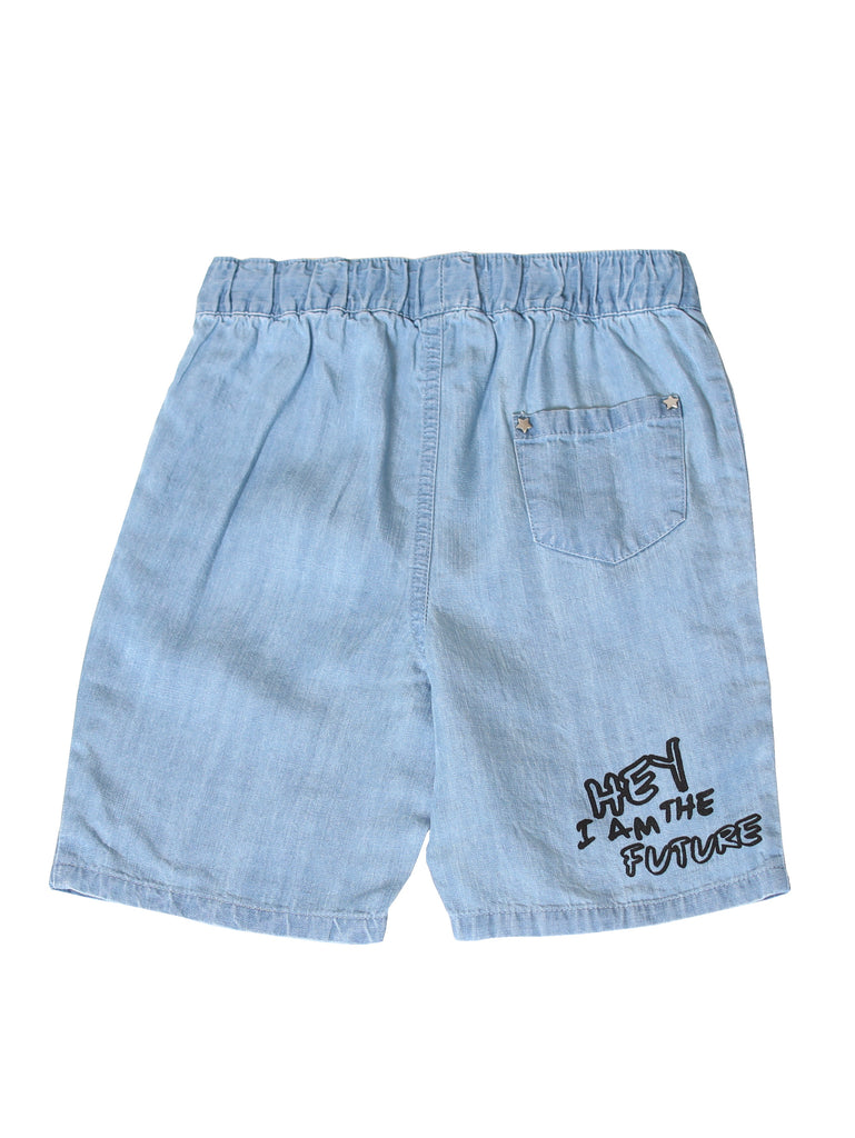 Boys Pull On Chambray Shorts