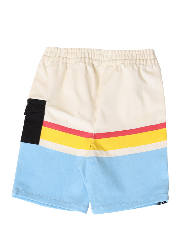 boys pull on knit shorts
