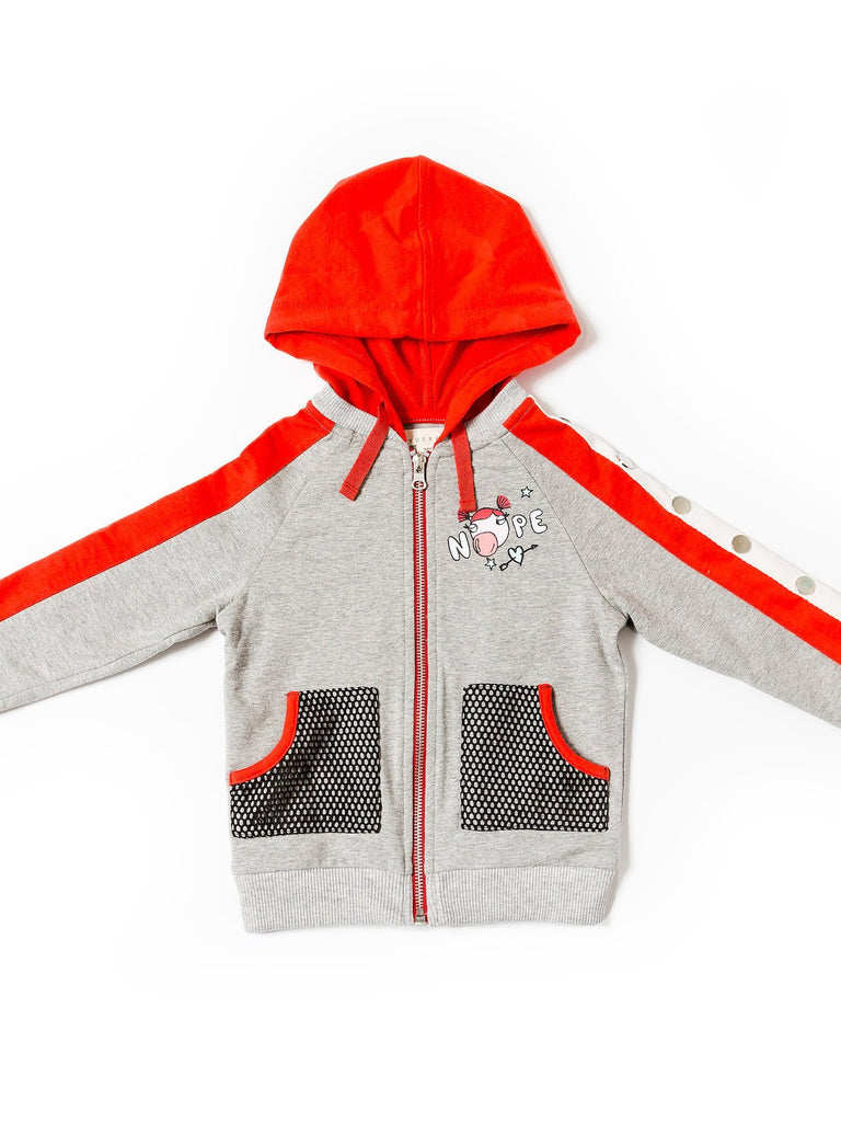 Kinderkind 2T 3T 4T 5T 6 7 kids apparel Baby clothes Children's clothing Kids Fashion Kids clothing toddler clothes machine washable Playwear Girls clothing Girls Leggings Girls dresses Girl's French Terry Zip Up Hoodie Zip Up Hoodie Adjustable Hood  Mesh Front Pockets Machine Washable 95% Cotton 5% Spandex French Terry